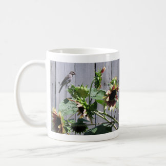 A Feast of Sunflower Seeds Basic White Mug
