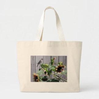 A Feast of Sunflower Seeds Jumbo Tote Bag