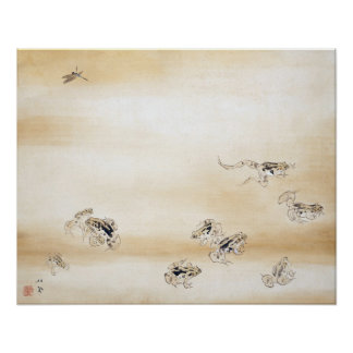 """""""A Fine Day"""" Japanese Ink Painting Posters"""