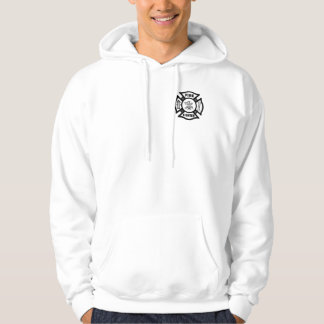 A Fire Fighter Maltese Hoodie