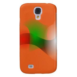 A Fish in an Orange Ocean Samsung Galaxy S4 Cases