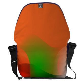 A Fish in an Orange Ocean Courier Bags