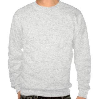 A Fish in an Orange Ocean Pullover Sweatshirt