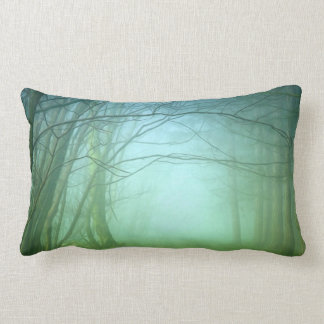 A Forest With Fog Pillow