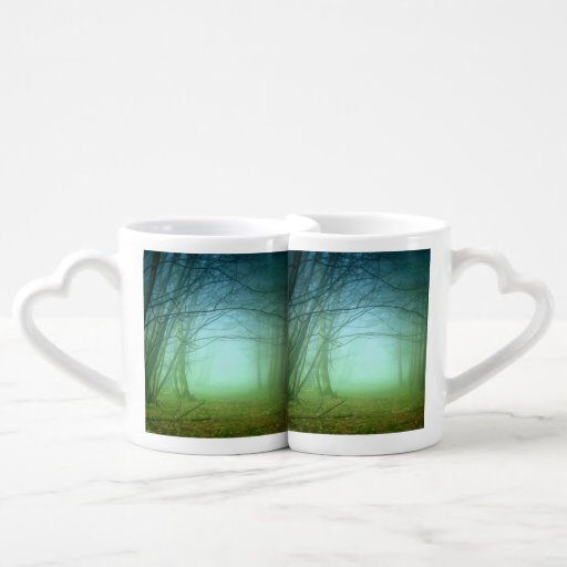 A Forest With Fog Lovers Mug