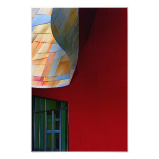A Form Of Red. Photo Print