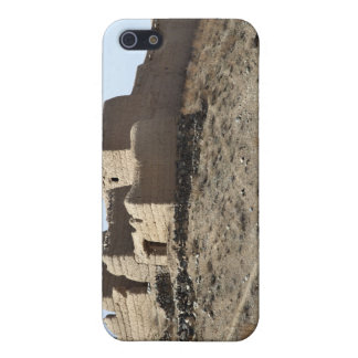 A fortified compound in the village of Akbar Kh iPhone 5 Case