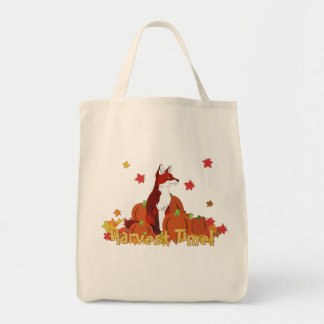 A Fox in the Pumpkin Patch (Harvest Time!) Tote Bag