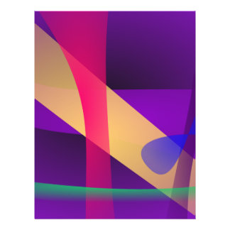 A Free Purple Abstract Space Flyers