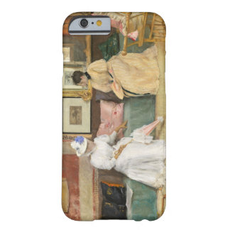 A Friendly Call, 1895 (oil on canvas) Barely There iPhone 6 Case