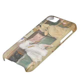A Friendly Call, 1895 (oil on canvas) iPhone 5C Covers