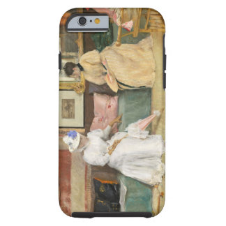 A Friendly Call, 1895 (oil on canvas) Tough iPhone 6 Case