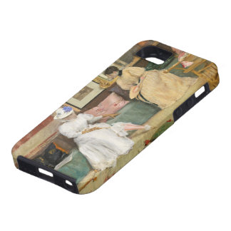 A Friendly Call, 1895 (oil on canvas) iPhone 5 Covers