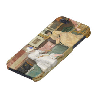 A Friendly Call, 1895 (oil on canvas) iPhone 5/5S Cases