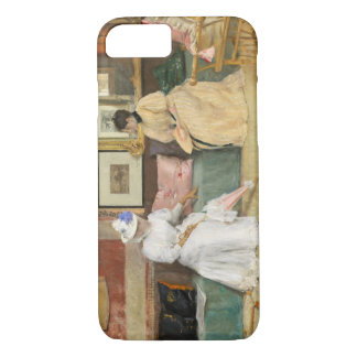 A Friendly Call, 1895 (oil on canvas) iPhone 7 Case