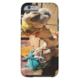 A friendly camel awaits its next rider, Cairo, Tough iPhone 6 Case