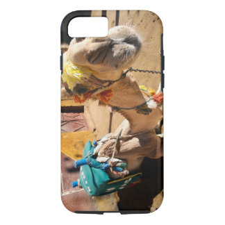 A friendly camel awaits its next rider, Cairo, iPhone 7 Case
