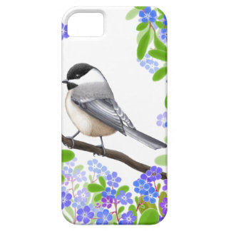A Friendly Little Chickadee iPhone 5 Case