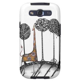 A giraffe named Kennett Galaxy S3 Case