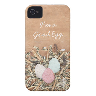 A Good Egg iPhone 4 Case-Mate Cases