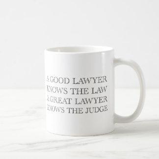 A Good Lawyer Mugs