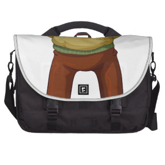 A grandfather commuter bags