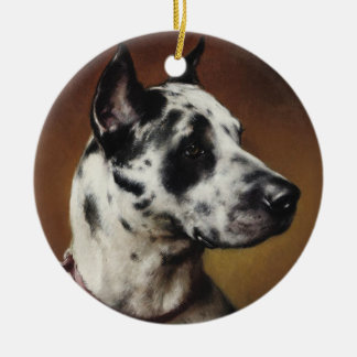 A Great Dane Ornament