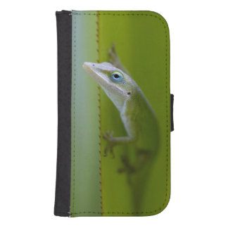 A green anole is an arboreal lizard samsung s4 wallet case