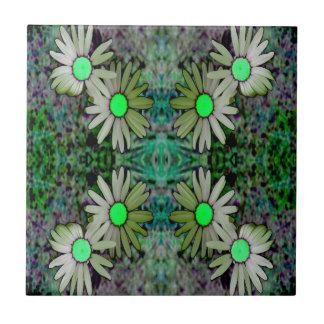 a GreenGlowingDaisyX Z.JPG Tile