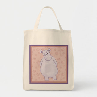 A Guilty Little Hippo Tote Bag