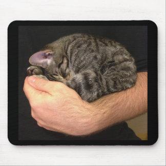 A Handful of Sleepy Mouse Pad