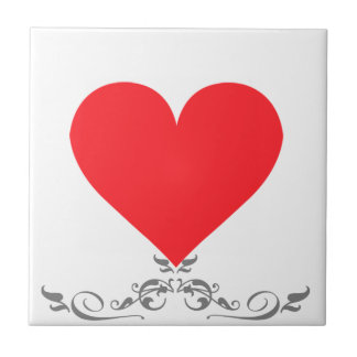 A Heart of Love and Affection Tiles