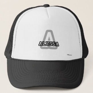 A is for Alyssa Trucker Hat