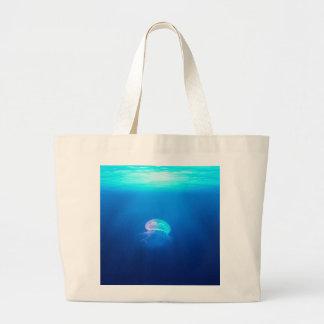 A Jellyfish Large Tote Bag