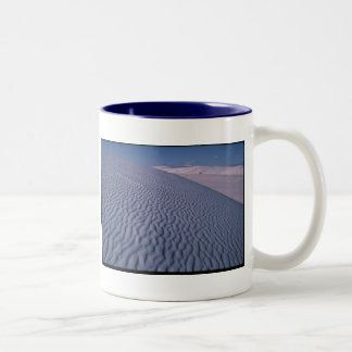 A journey of a thousand miles begins ... Two-Tone coffee mug