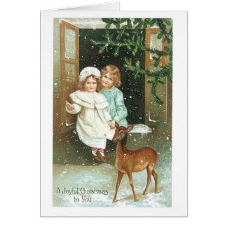 A Joyful Christmas to You Greeting Card
