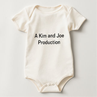 A kim and joe production baby bodysuit