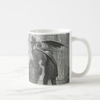 A Kiss Victorian/Gothic Winged Vampire Coffee Mug