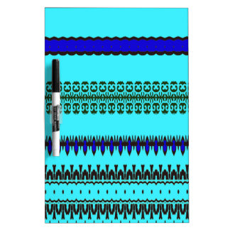 A la mode Blue Dry Erase Board