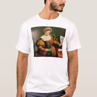 A Lady with a Drawing of Lucretia, c.1530-33 T-Shirt