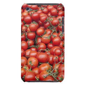 A large crop of tomato on a market stall in iPod touch Case-Mate case