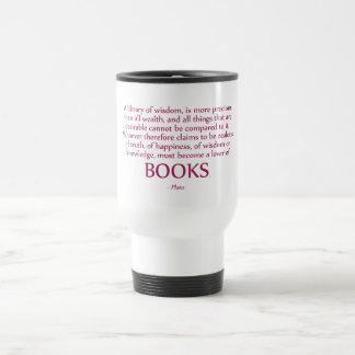 A Library Of Wisdom Is More Precious Travel Mug