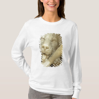 A Lion licking the foot of Daniel T-Shirt