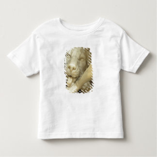 A Lion licking the foot of Daniel Toddler T-Shirt