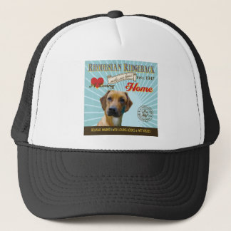 A Loving Rhodesian Ridgeback Makes Our House Home Trucker Hat