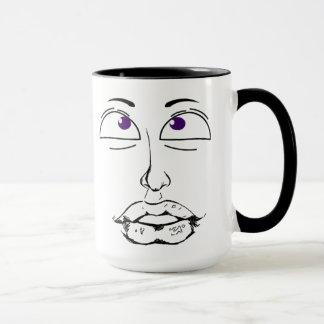 A man Face Mug