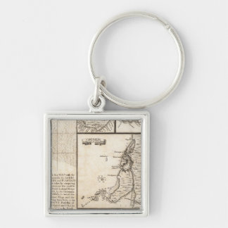 A Map of the British Empire in America Sheet 20 Key Ring