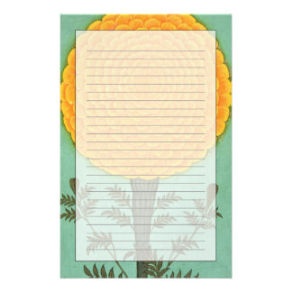 A Marigold, from the Small Clive Album (w/c on pap Stationery