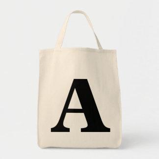 """""""A"""" Monogram Bag"""