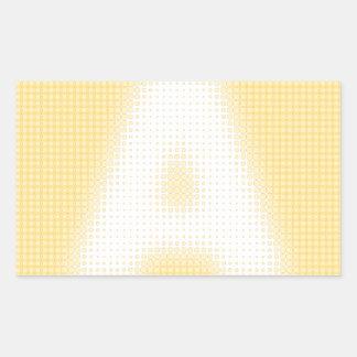 A Monogram Stickers